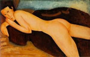 Nu de Costas - Modigliane